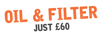 Oil & Filter Just £40